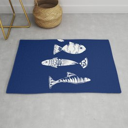 Sea fishes Rug
