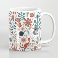 australia Mugs featuring Australia by Mel Armstrong