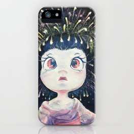 Hanabi hair iPhone Case