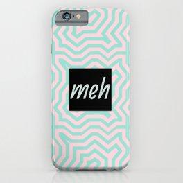 meh pastel iPhone Case