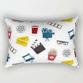 Cinema movie pattern Rectangular Pillow