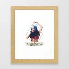 Halsey Artwork Framed Art Print