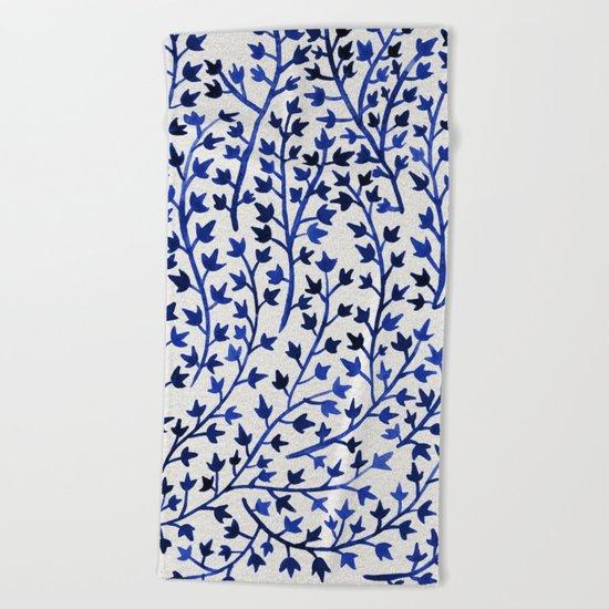 Porcelain Ivy Beach Towel