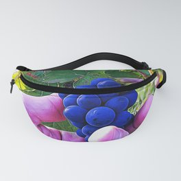 Cluster of Pinot Noir grapes Fanny Pack