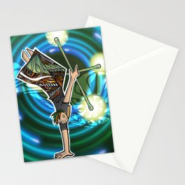 double staff guy Stationery Cards