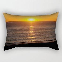 Sunset in Santa Monica Rectangular Pillow