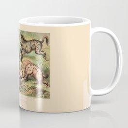 Vintage Hyaenidae Coffee Mug