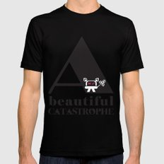 A Beautiful Catastrophe Black LARGE Mens Fitted Tee
