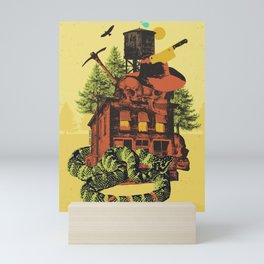 OLD TIMEY DARKNESS Mini Art Print
