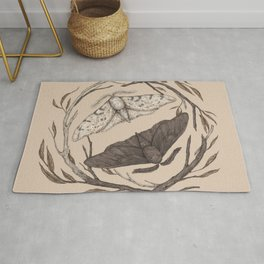 Peppered Moths Rug