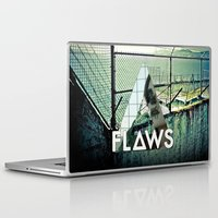 bastille Laptop & iPad Skins featuring Bastille - Flaws by Thafrayer