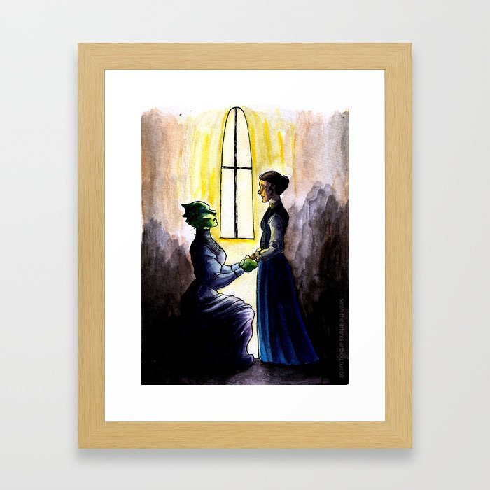 My Dear Will You Marry Me Framed Art Print By Sarahtheartiste
