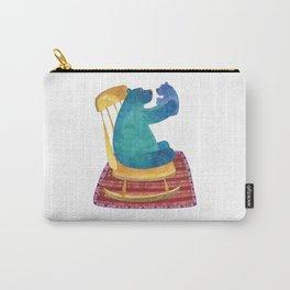 Blue mama bear Carry-All Pouch