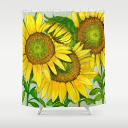 The Family Gathering Shower Curtain