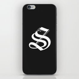 Letter S iPhone Skin