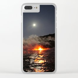 Hot Like Lava Clear iPhone Case