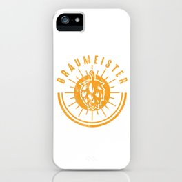 Brewery Brewing Ciders Fermentation Gift Brew Master Beer Brewer iPhone Case
