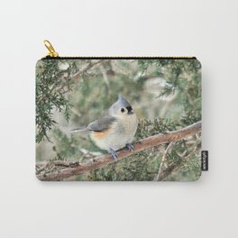 Tiny Titmouse Carry-All Pouch