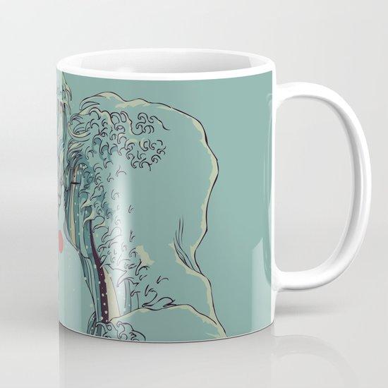 Kissing The Wave Mug