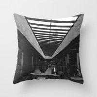 melbourne Throw Pillows featuring MELBOURNE by AdventurousMelburnian
