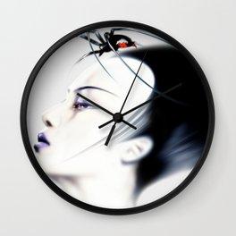 Retro Muse / 6 Wall Clock