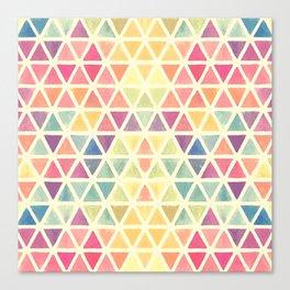 TRIANGLE--COLOR Canvas Print