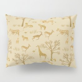Safari in the Serengeti Pillow Sham