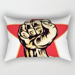 rage against the machine hand 2020 Rectangular Pillow