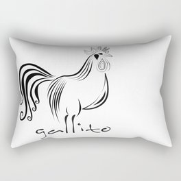 adrianamateus/gallito Rectangular Pillow