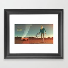 The Man with the Golden Beard Framed Art Print
