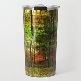 Autumn Sunset - In The Woods Travel Mug