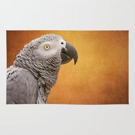 African grey parrot Rug