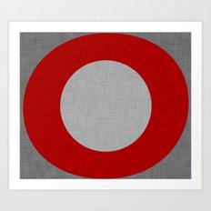 Zen Zero Art Print