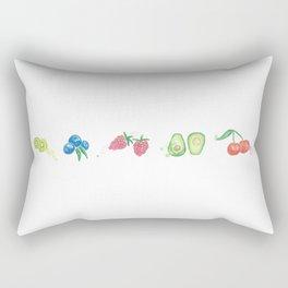 Fruit Salad Rectangular Pillow