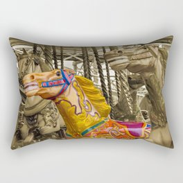 MERRY-GO-ROUND FUN Rectangular Pillow