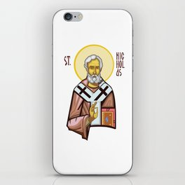 St. Nicholas of Myra iPhone Skin