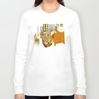 van gogh Long Sleeve T-shirts featuring Van gogh by bobilerorg