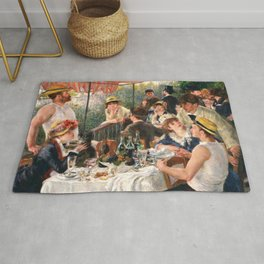 Pierre-Auguste Renoir - Luncheon of the Boating Party - Digital Remastered Edition Rug