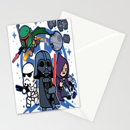 Darth Vader and Friends Stationery Cards