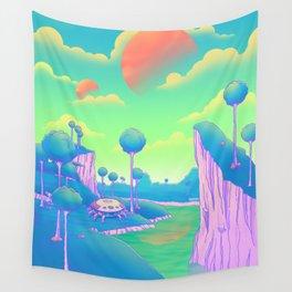 Planet Namek Wall Tapestry