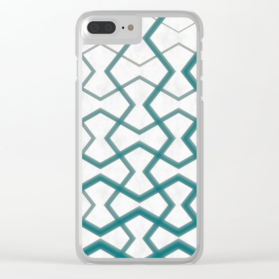 Biscay Bay Under Marble Tiles Clear iPhone Case