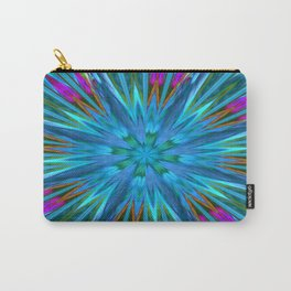 Inverted/Solarized Abstract 7 Carry-All Pouch