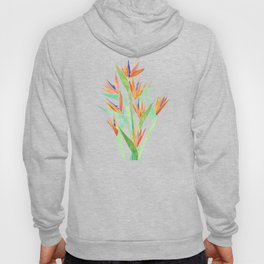 Birds of Paradise ~ tropical bouquet Hoody