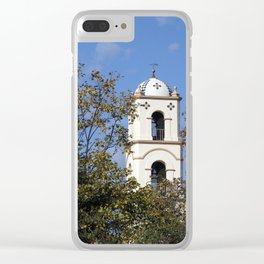 Ojai Post Office Tower Clear iPhone Case