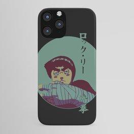 Rock Lee Endure Japanese iPhone Case