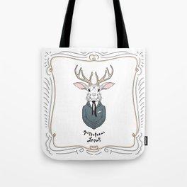 Epistolarus Lepus (milk) Tote Bag
