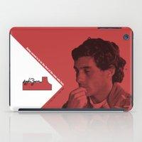 senna iPad Cases featuring Ayrton Senna 1960-1994 by design.declanhackett