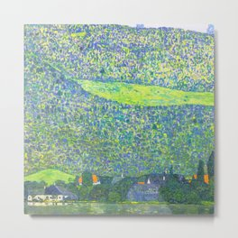 "Gustav Klimt ""Litzlberg on Lake Attersee"" Metal Print"