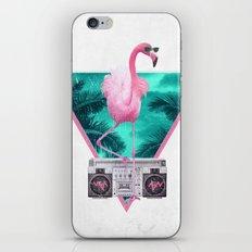 Miami Flamingo iPhone Skin
