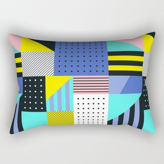 Patchwork Two Rectangular Pillow